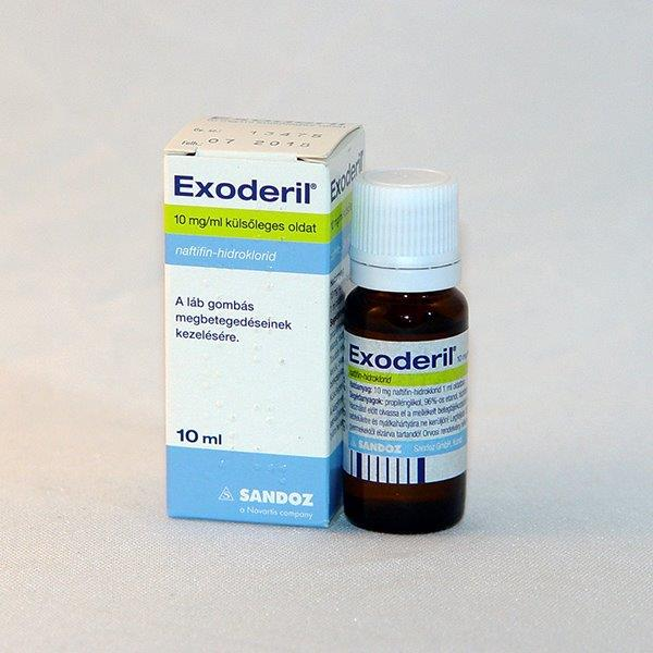 Exodeil 10mg ml kulsoleges  oldat